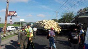 Un muerto y 3 heridos accidente autopista Duarte