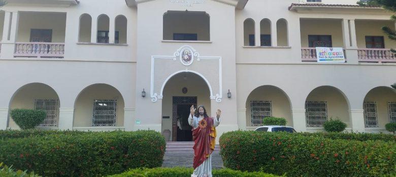 Desconocidos roban en el colegio Sagrado Corazón de Jesu