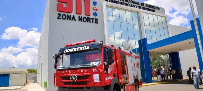 Sistema 9-1-1 entrega 27 camiones de bomberos zona norte y Distrito Nacional