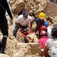 Al menos un muerto derrumbe terrenos donde se construye hotel