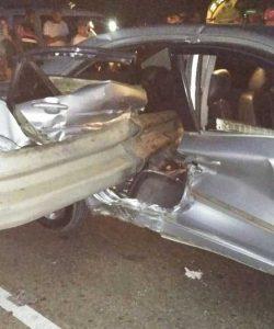 Niño muere en accidente en la autopista Joaquín Balaguer