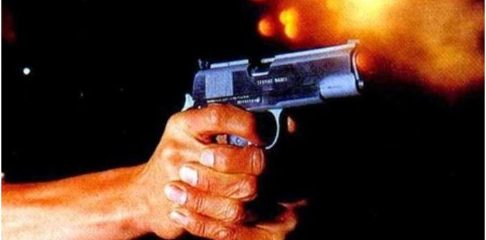 disparo de pistola