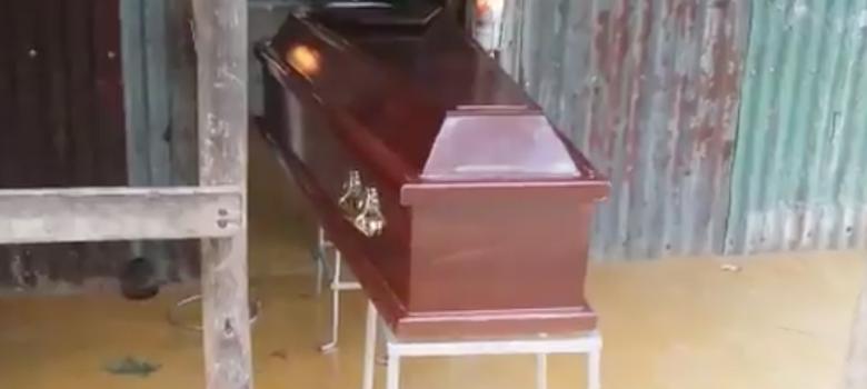 Dicen hombre que murió hace 4 días está vivo