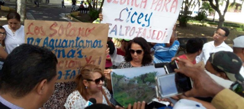 protestas obras licey
