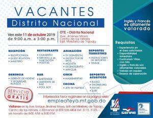 empleo distrito nacional