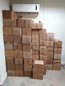 Incautan decenas de cajas de ron adulterado