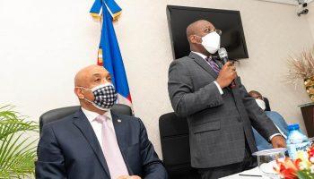 Canciller de Haití, Claude Joseph, se reúne con la diáspora haitiana en Santo Domingo